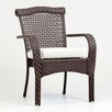 South Sea Rattan Martinique Dining Arm Chair with Cushion