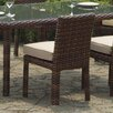 South Sea Rattan St Tropez Dining Side Chair with Cushion