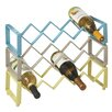 CBK Zig Zag Stacking 4 Bottle Tabletop Wine Rack (Set of 3)