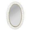 CBK Distressed Oval Wall Mirror