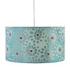 CBK 1 Light Floral Burst Drum Pendant