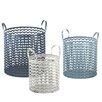 CBK 3-Piece ZigZag Storage Basket Set