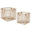CBK 2-Piece Open Weave Crate Set