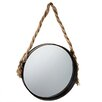 CBK Wall Mirror with Rope Hanger