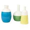 CBK 3 Piece Color Dip Vase Set (Set of 3)