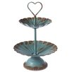 CBK Two Tiered Stand with Heart