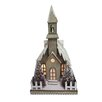 CBK Father Frost Lighted LED Vintage Church