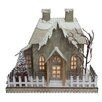 CBK Father Frost Lighted LED Vintage House