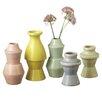 CBK Bloom 5 Piece Nesting Vase Set (Set of 5)