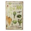 "CBK Country Garden ""Jardin de Legumes"" Graphic Art"