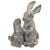 Garden Classic Rabbits Statue - CBK Garden Statues and Outdoor Accents