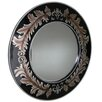Grand International Decor French Inspired Leaf Mirror