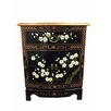 Grand International Decor Blossom 1 Drawer Side Cabinet