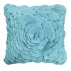 Edie Inc. Dimensional Peony Indoor/Outdoor Throw Pillow