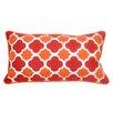Edie Inc. Mini Quatrefoil Indoor/Outdoor Lumbar Pillow