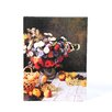 ArtWall ''Flowers and Fruit'' by Claude Monet Painting Print on Canvas