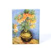 ArtWall ''Fritillaries'' by Vincent Van Gogh Painting Print on Canvas