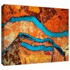 ArtWall 'Niquesa' by Dean Uhlinger Painting Print on Wrapped Canvas