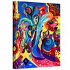 ArtWall Healing Angel I by Marina Petro Painting Print on Gallery Wrapped Canvas