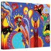 ArtWall Angel Fire by Marina Petro Painting Print on Gallery Wrapped Canvas