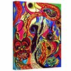 ArtWall Angel And Dragons by Marina Petro Painting Print on Gallery Wrapped Canvas