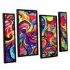ArtWall Birth by Marina Petro 4 Piece Painting Print on Gallery Wrapped Canvas Set