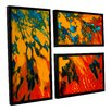 ArtWall Floating by Byron May 3 Piece Floater Framed Wall Art on Canvas Set