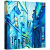 "ArtWall ""Magical Alleys of Venice"" by Susi Franco Painting Print on Canvas"