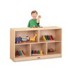 Jonti-Craft ThriftyKYDZ Low Single Mobile Storage Unit