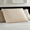 Comfort Revolution Sherpa and Memory Foam Luxury Bed Pillow