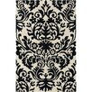 Filament  LLC Cinzia Cream / Black Floral Area Rug