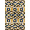 Filament  LLC Cinzia Yellow / Black Area Rug