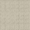 "4urFloor Smart Transformations Ribbed Multi Purpose 24"" x 24"" Carpet Tile in Ivory"