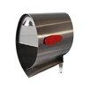 Spira Mailbox Post Mounted Mailbox
