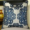 Plutus Brands Archetype Sapphire Double Sided Throw Pillow
