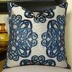 Plutus Brands Archetype Sapphire Throw Pillow