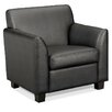 HON Basyx Tailored Leather Lounge Chair