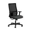 HON Ignition Mid-Back Mesh Task Chair in Grade V Silvertex Vinyl