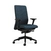 HON Nucleus Upholstered Back Task Chair with Adjustable Arms in Grade III Attire Fabric