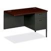 HON 10500 Series Single Pedestal Desk Return