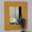 Global Views Arabesque Trapunto Wall Mirror
