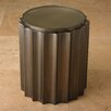Global Views Fluted Column End Table