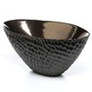 Global Views Chiseled Oval Decorative Bowl