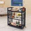 Global Views Grid Block Bar Cart