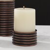 Global Views Ribbed Candlestick Votive