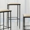 "Global Views Hammered 31"" Bar Stool with Cushion"