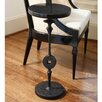 Global Views Artisan Peg End Table