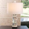 "Global Views Stacked Gemstone 30.25"" H Table Lamp with Drum Shade"