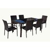 Manhattan Comfort Village 7 Piece Dining Set