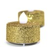 Koyal Wholesale Glitter LED Tealight with Flicker (Set of 24)